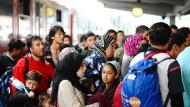 Viele Flüchtlinge bejahen rechtspopulistische Einstellungen