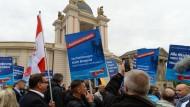 AfD steigt, Union sinkt