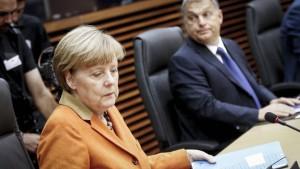 Orban sucht Konfrontation mit Merkel