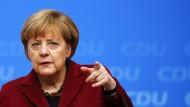 Bundeskanzlerin Merkel will ihrer Partei weiterhin die Richtung vorgeben, doch die rebelliert – zumindest in Teilen.