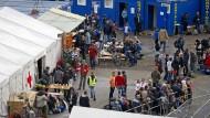 Flüchtlinge nutzen Slowenien als Transitland auf dem Weg nach Österreich.