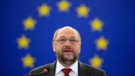 Schulz rechnet mit Einigung bei Flüchtlingsverteilung