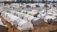 Ein Flüchtlingslager wie in Nizip an der türkisch-syrischen Grenze könnte nach dem Willen des Innenministeriums auch der tunesischen Grenze zu Libyen entstehen.