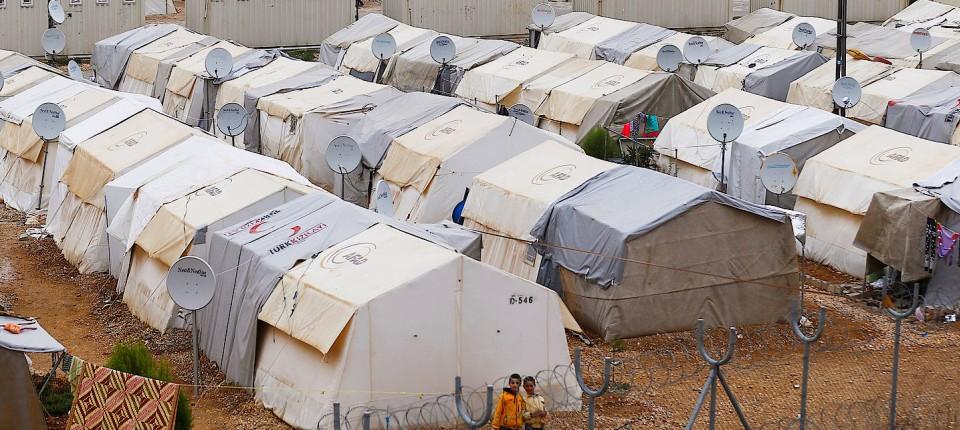 Ein Flüchtlingslager Wie In Nizip An Der Türkisch Syrischen Grenze Könnte  Nach Dem Willen Des