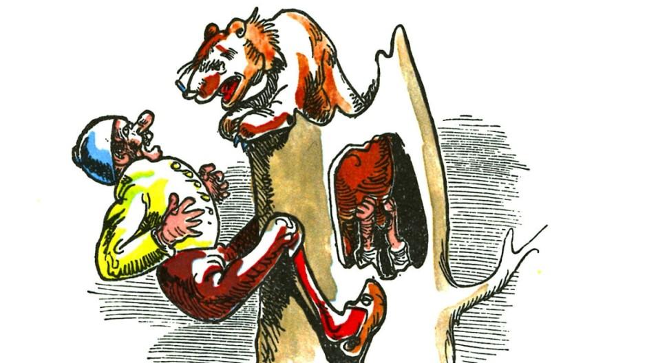 Ob Bär, Tiger oder Trump: Der Gefahr mit Wumms ins Auge geblickt.