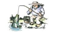 Ein Fischer sieht rot: Auch Angeln kann zur Obsession werden.