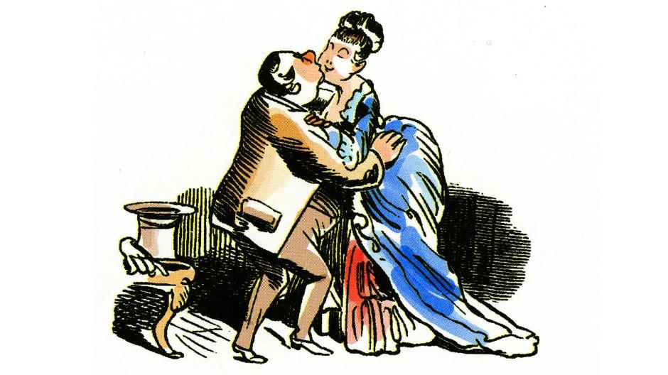 Mein schönes Fräulein: Das hat sich vielleicht Goethe noch erlauben können!