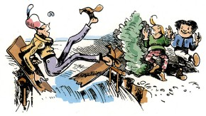Fraktur: Tücke, Tücke, Lückenbrücke!