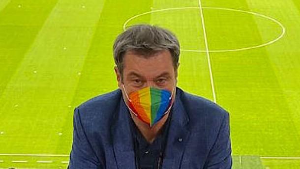 Ganz im Zeichen des Regenbogens
