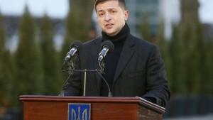 Selenskyj: Keine Absprachen zu Biden-Ermittlungen