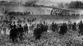 Historisches E-Paper zum Ersten Weltkrieg: Landwehr auf dem Marsch