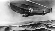 Neue deutsche Luftschiff-Angriffe gegen England