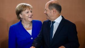 SPD in voller Fahrt, Union auf der Bremse