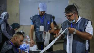 Wahlbeteiligung im Irak fällt auf Rekordtief