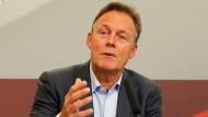 Thomas Oppermann, Fraktionsvorsitzender der SPD, bei der SPD-Klausurtagung am 2. September.