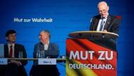Wollen unbedingt antreten: Josef Dörr (M.) und Rudolf Müller (r.)