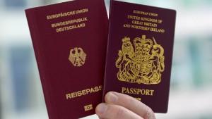 Zahl der eingebürgerten Briten klettert auf Rekord
