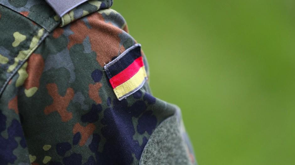 Ein Bundeswehrsoldat im Juni 2015