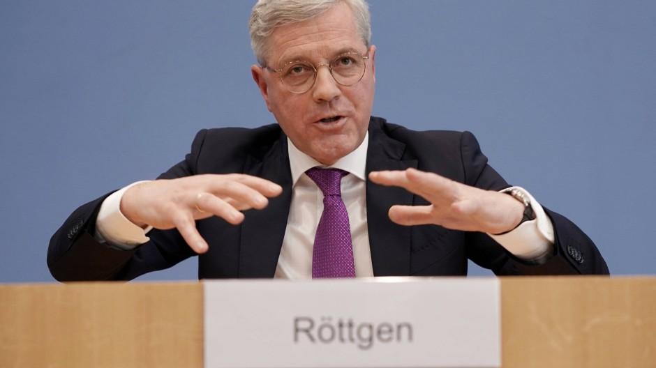 Norbert Röttgen am Dienstag in Berlin