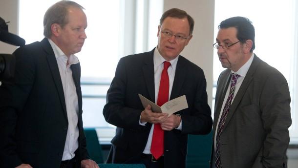Abschluss der Koalitionsverhandlungen in Niedersachsen