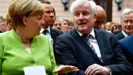 Angela Merkel und Horst Seehofer: Sie werden in diesem Leben wohl keine Freunde mehr.