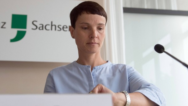 Frauke Petry angeklagt