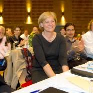 """Neugründung: Applaus für die neue stellvertretende Vorsitzende der Partei """"Neue Liberale"""", Sylvia Canel, am Sonntag in Hamburg"""