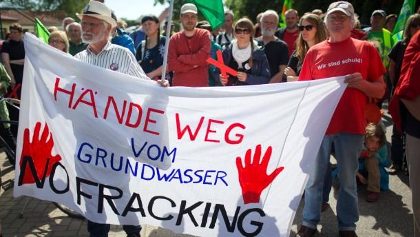 Berlin treibt Gesetz für umstrittene Gasförderung voran