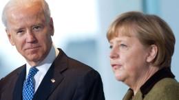 Biden empfängt Merkel am 15. Juli