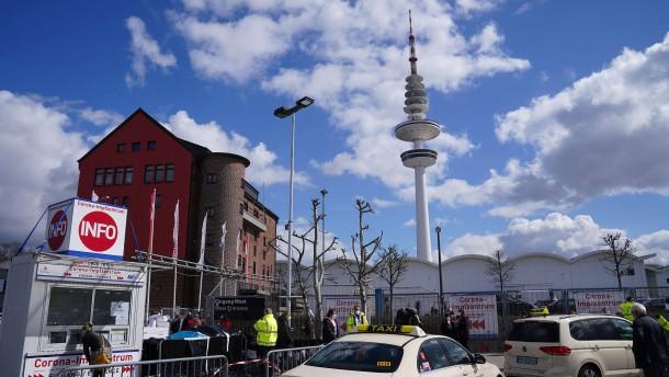 Hamburg hält an Priorisierung im Impfzentrum fest