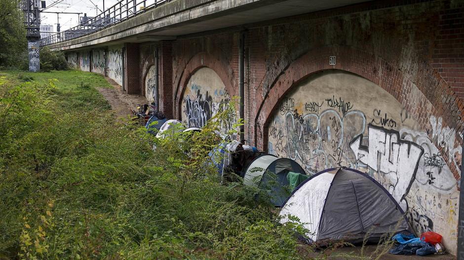 Berlin: Obdachlose kampieren seit Monaten im Tiergarten