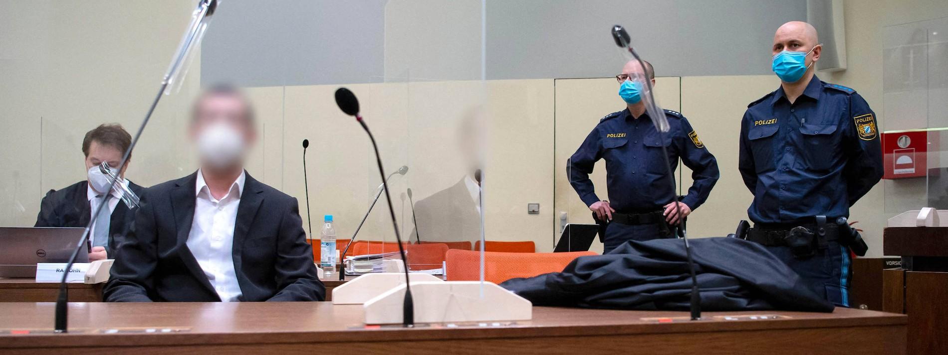Angeklagter im Prozess um Anschläge in Waldkraiburg geständig