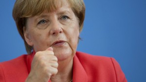 "Merkel: ""Wir schaffen das"""