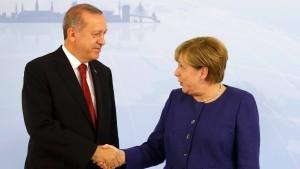 Mit Erdogan reden