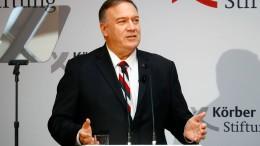 Pompeo wirft Russland Mord an Oppositionellen vor
