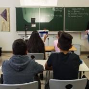 Vermittlung von Sprache und Werten: In einer Vorbereitungsklasse in Stuttgart werden Flüchtlingskinder auf die Teilnahme am regulären Unterricht vorbereitet.