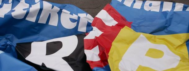 Zerrissen: Die Erinnerung von Peter Münch, Landeschef der hessischen AfD, an seine Zeit bei den Republikanern ist lückenhaft