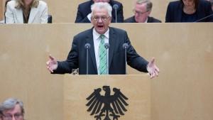 Kretschmann verspricht Zustimmung