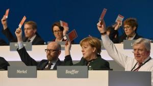 Der Kanzlerwahlverein zeigt Risse