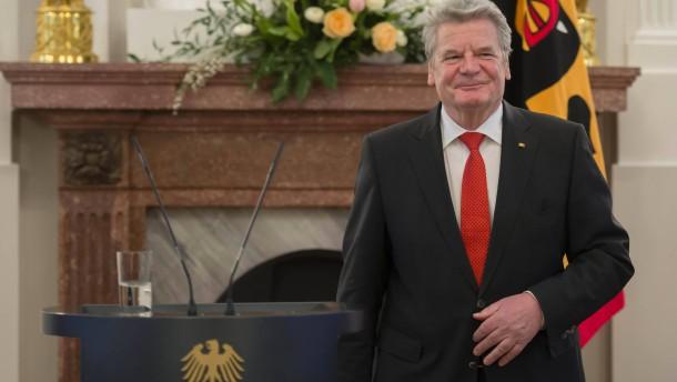 Umfrage: Deutsche zufrieden mit Gauck