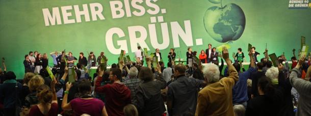 Auf dem Grünen-Parteitag in Hamburg herrschte viel Konzilianz