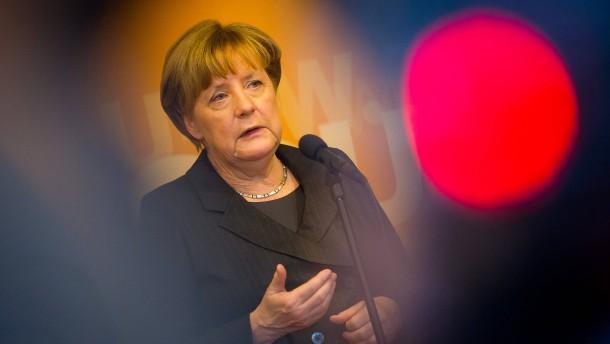 Merkel ruft Trump zu respektvollem Umgang auf