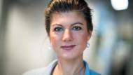 """Sahra Wagenknecht ist die unangefochtene Führungsfigur von """"Aufstehen""""."""