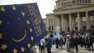 """""""Leute freut euch"""": Europa soll wieder positiv besetzt werden."""