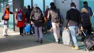 Willkommen geheißen werden sollen nach dem Willen der CSU nur die ersten 200.000 Asylsuchenden.