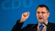 Sascha Ott sollte Justizminister von Mecklenburg-Vorpommern werden, dann jedoch von der CDU zurückgezogen.