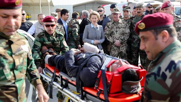 Das soll sich für die Bundeswehr im Irak ändern