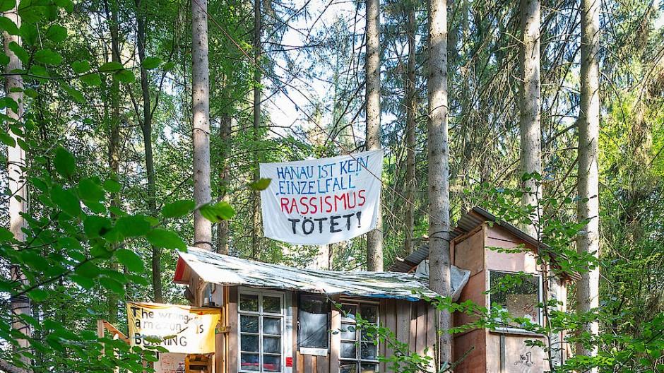 Baumhaus im Dannenröder Forst