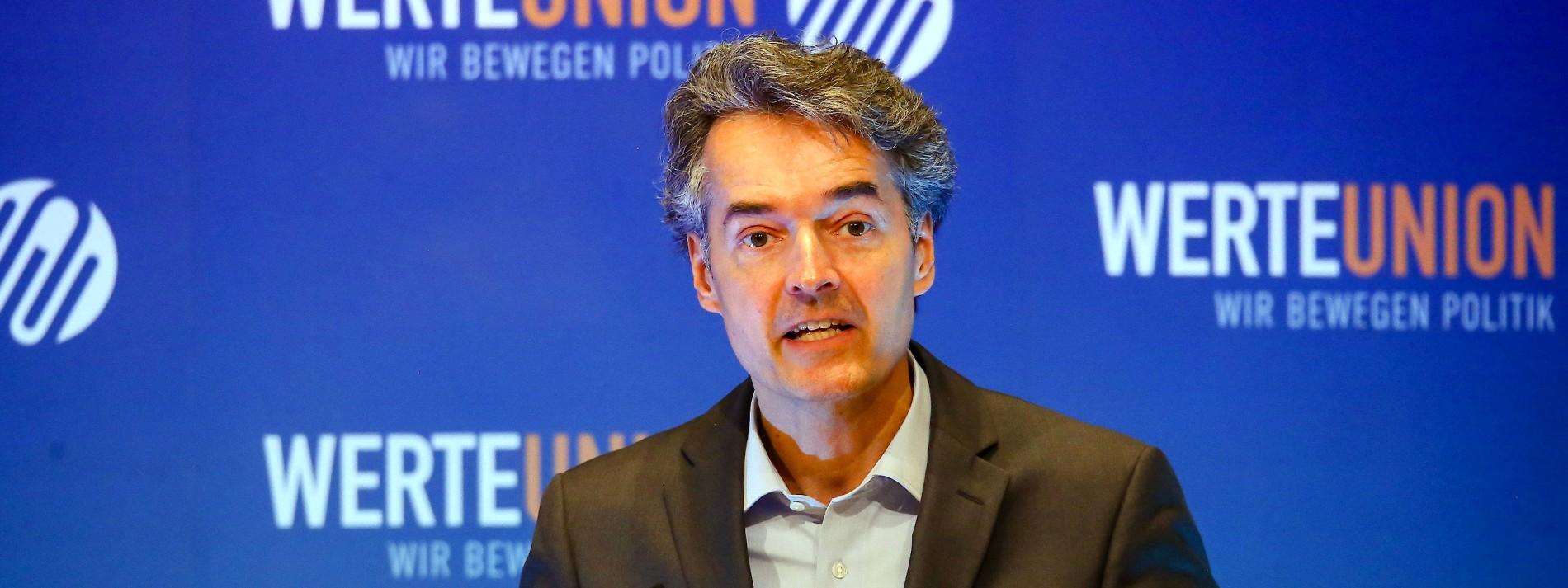 Werteunion verlangt Aufwertung in CDU