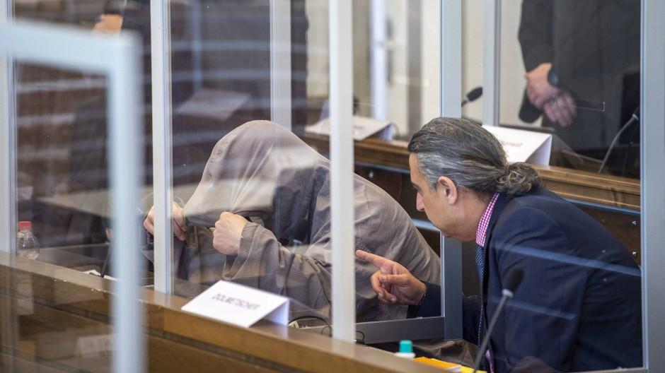 Der Angeklagte Eyad A. im Oberlandesgericht Koblenz